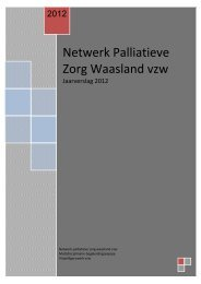 Jaarverslag NPZW 2012 - Netwerken Palliatieve Zorg Oost ...