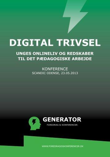 Digital trivsel - Foredrag, Konferencer og Kurser