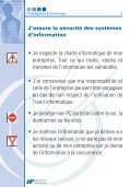 Passeport pour la protection de l'information - Direccte - Page 5