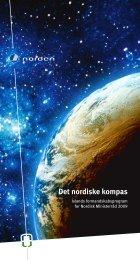 Det nordiske kompas - Formennska Íslands 2009