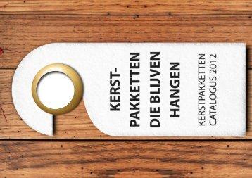 Bekijk hier onze kerstpakkettencatalogus voor 2012! - HekonValentijn