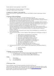 Notulen Algemene Ledenvergadering 11 januari ... - Delta Duikteam