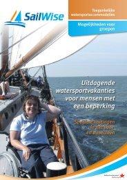 Folder groepsreizen Nederlands - SailWise