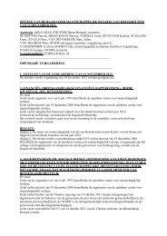 Verslag OCMW-raad 12 december 2012 - Gemeente Kruishoutem