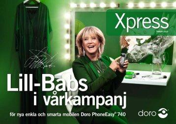 för nya enkla och smarta mobilen Doro PhoneEasy® 740