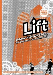 Ballymun Youth Arts Festival - axis, Ballymun