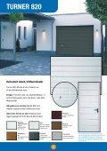 Turner 800-serien - Turner Door - Page 6