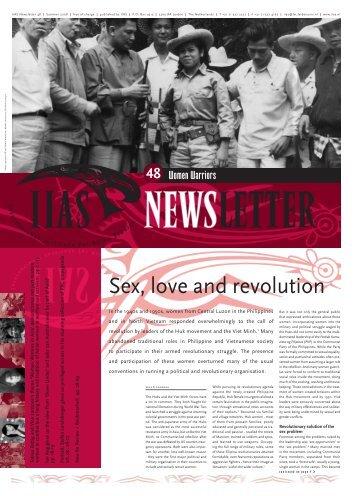 Sex, love and revolution - International Institute for Asian Studies (IIAS)