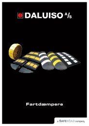 produktbrochure over fartdæmpere - Daluiso A/S