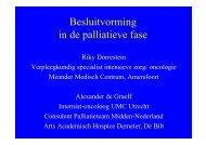 2013 Dorrestein de Graeff Besluitvorming palliatieve fase - Stichting ...