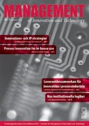Nummer , oktober 2011 - Stiftelsen IMIT