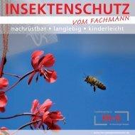 Insektenschutz vom Fachmann