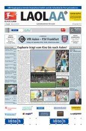 VfR Aalen – FSV Frankfurt Euphorie trägt vom ... - Schwäbische Post