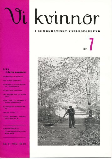 1956/7 - Vi Mänskor
