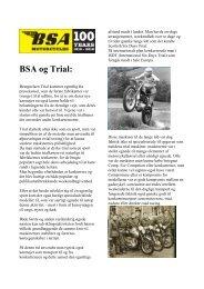 BSA og Trial: