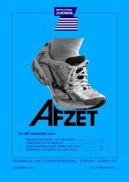 32e jaargang nr. 2 / december 2012 - AV Zuidwal