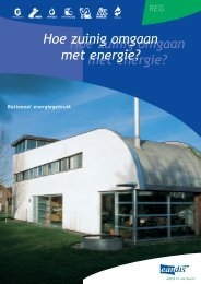 Hoe zuinig omgaan met energie?