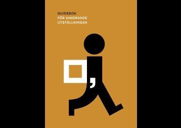 Guideboken i pdf-format - Riksutställningar.se - Välkomstsida