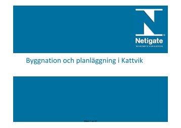 Byggnation och planläggning i Kattvik - PP ... - Båstads kommun