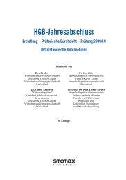 HGB-Jahresabschluss Erstellung – Prüferische Durchsicht