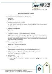 Fjelstervang den 21. marts 2013. Menighedsrådsmøde den 19 marts