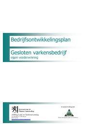Bedrijfsontwikkelingsplan Gesloten varkensbedrijf - Bio Zoekt Boer