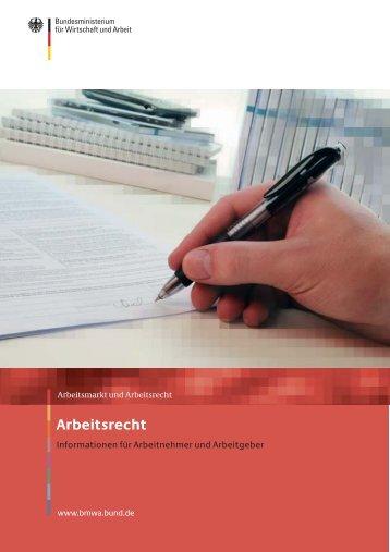 Informationsbroschüre Arbeitsrecht [Download,*.pdf, 0,24 MB]