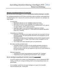 Vergoedingsregeling vrijwilligers - Nederlandse Transplantatie ...