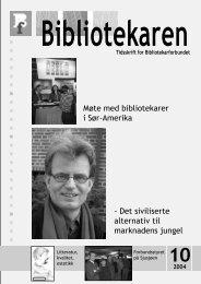Bibliotekaren - Bibliotekarforbundet