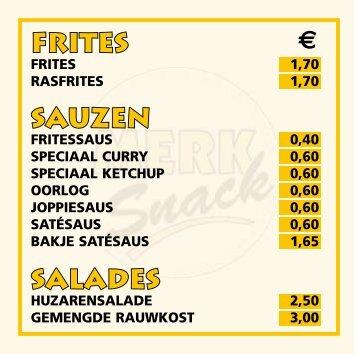 Assortiment - Snackbar Jan en Jan