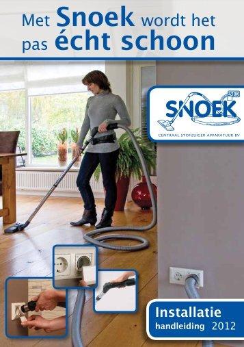 Installatie handleiding - Snoek
