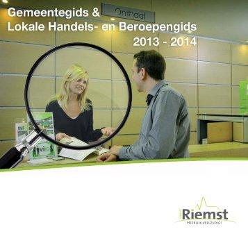 Riemst gids 2013-2014 website_Opmaak 1 - Gemeente Riemst