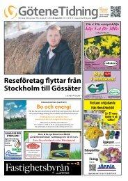 Reseföretag flyttar från stockholm till Gössäter - Götene Tidning