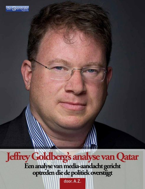 Jeffrey Goldberg – Qatar - De Centrale