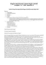 Referat af årsmøde 2012 - Islandsbrygges Lokalråd