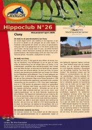 Hippoclub Nieuwsbrief nr. 26 - Cavalor
