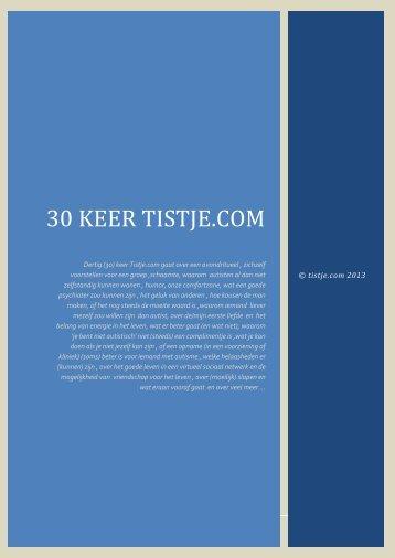 30 keer tistje.com