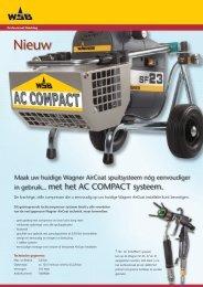 in gebruik... met het AC COMPACT systeem. - Wagner