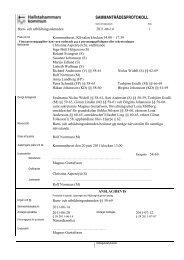2011-06-14 protokoll barn - Hallstahammar