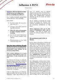 Influensa A H1N1 - Previa