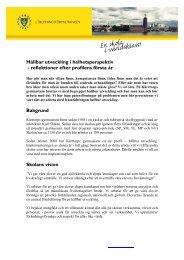 Hållbar utveckling i helhetsperspektiv - Pedagog Stockholm