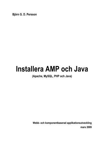 Installera Apache MySQL PHP och Java - Kilted Viking
