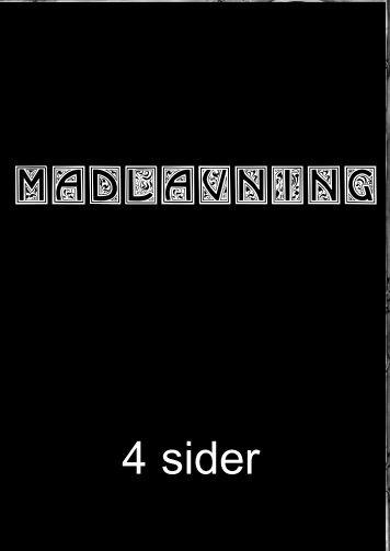 MADLAVNING 4 sider - hans eget website