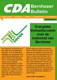 BB Dec 2012 - CDA Bernheze