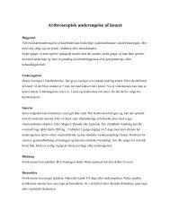Download denne vejledning i PDF-format - Ortopædkirurgisk Klinik ...