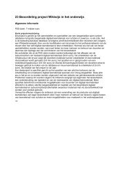 CPB - Beter Onderwijs Nederland