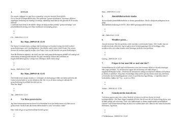 1. ETTAN 2. Re: Mats, 2009-03-01 12:32 3. Re: Mats ... - Tysta tankar