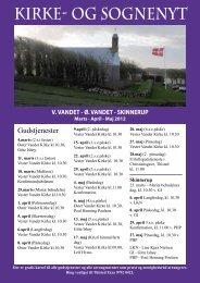 KIRKE- OG SOGNENYT - Vester Vandet Kirke