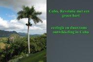 Cuba, Revolutie met een groen hart ecologie en ... - Cubanismo