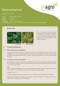Teeltfiches: kruiden voor gezond vee - Inagro - Page 5